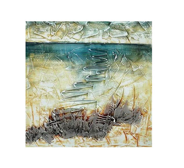 Below the Watery Surface Canvas Art
