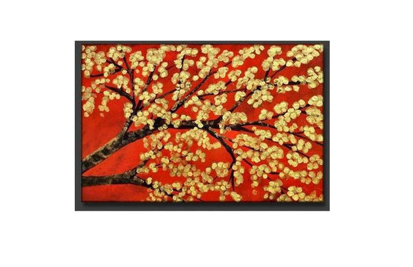 Dynasty Blooms Canvas Art