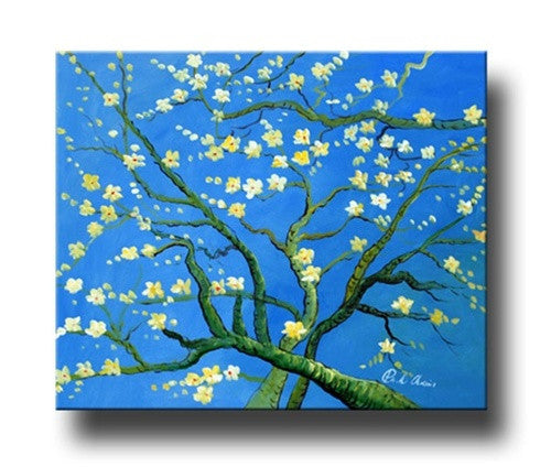 Almond Blossoms Canvas Art
