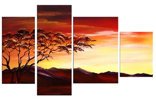 Hills of Africa Canvas Art