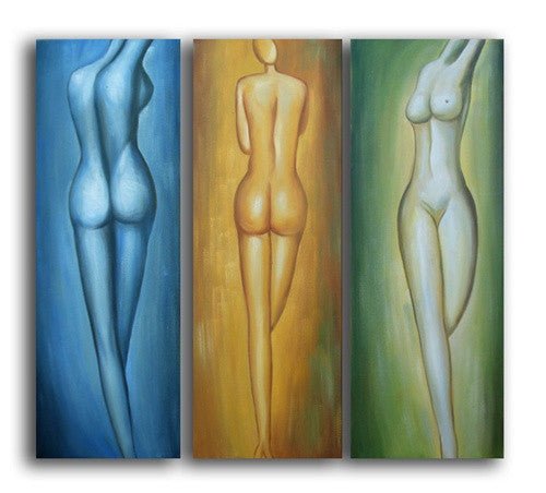 Feminine Forms Canvas Art