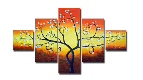 Forked Branches Canvas Art