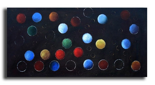 Lost Marbles Canvas Art