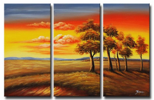Transitions at Sundown Canvas Art