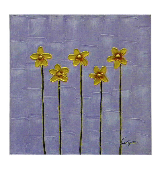 Five Stems Canvas Art