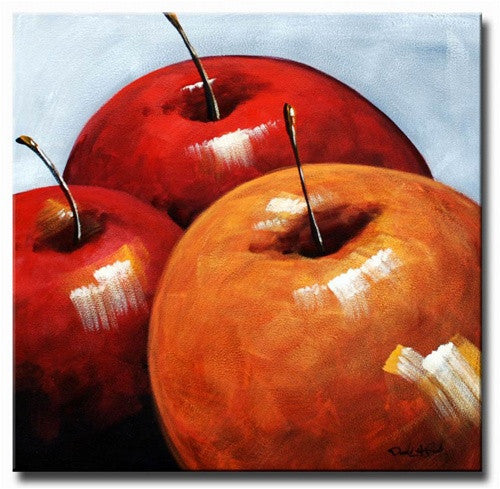 Harvested Apples Canvas Art