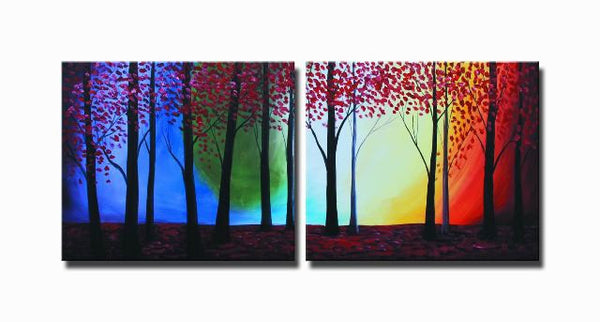Forests Edge Canvas Art