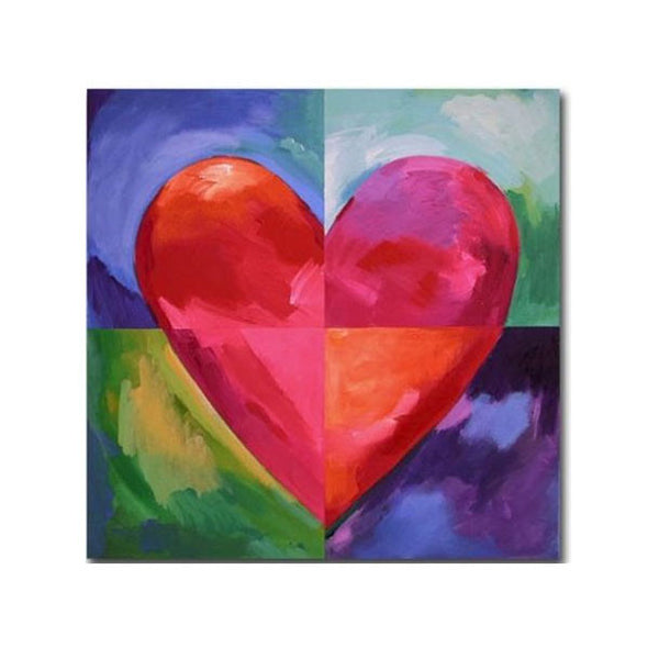 Big Heart Canvas Art