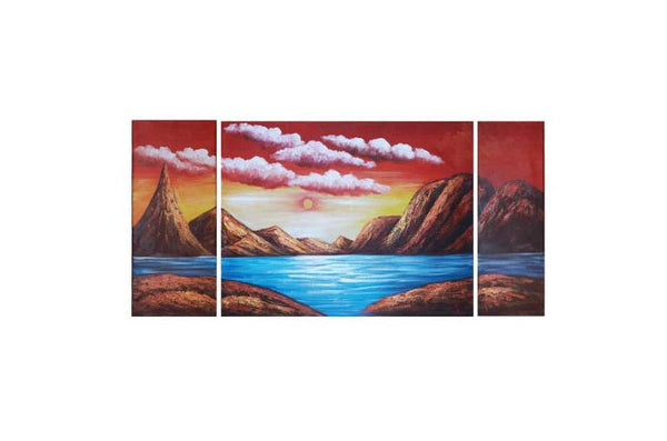 Fire on the Mountains Canvas Art