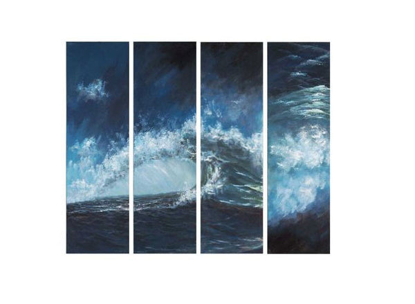 Crashing Swell Canvas Art