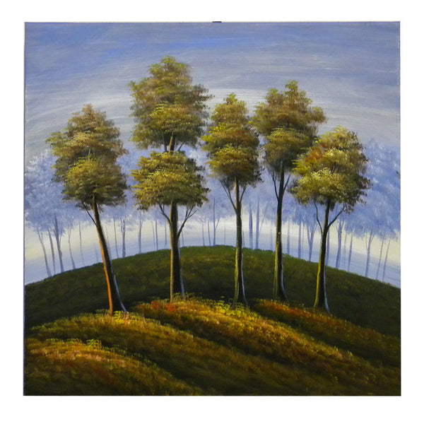 Cresting Trees Canvas Art