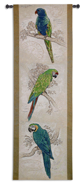 Tropical Birds Tapestry Wall Hanging