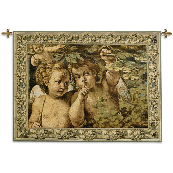 Whispering Angel Tapestry Wall Hanging