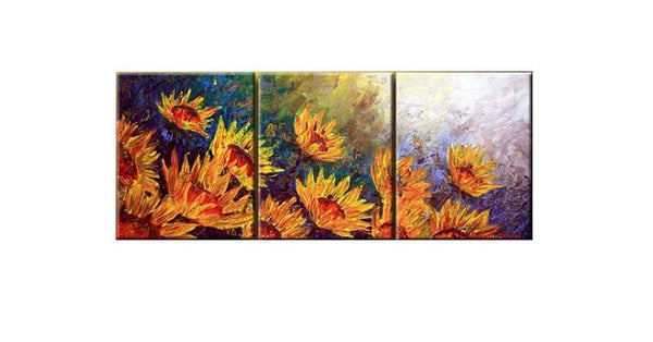 Flowers of the Sun Canvas Art