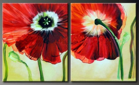 Viewpoints of Poppy Canvas Art