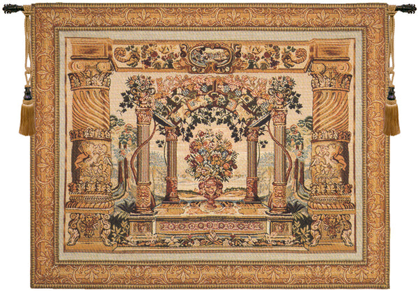 Terrasse with Border I French Tapestry