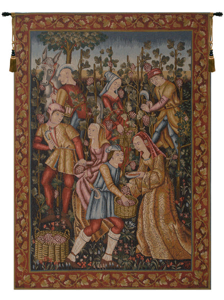 Vendanges  French Tapestry
