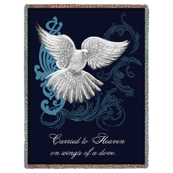 Memorial Dove Tapestry Throw