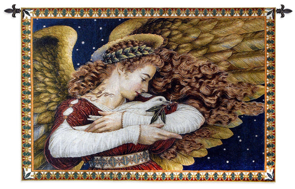 Angel & dove  Tapestry Wall Hanging