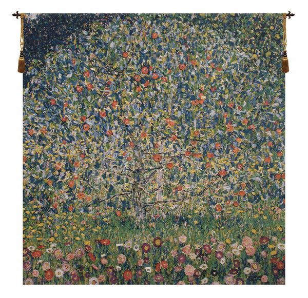 Apple Tree Klimt Belgian Tapestry Wall Hanging