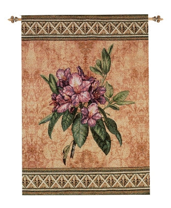 Festival Of Flowers Rhododendron Wallhanging Fine Art Tapestry