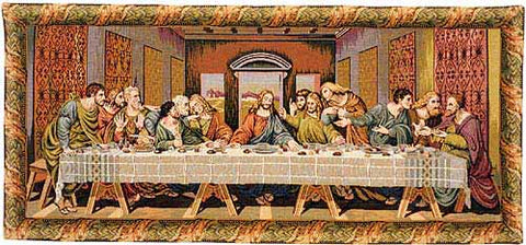 The Last Supper II Tapestry Wall Hanging