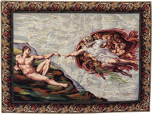 The Creation Tapestry Wall Hanging