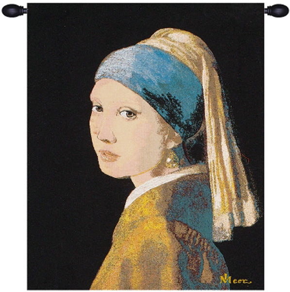 The Girl With The Pearl Earring European Tapestry