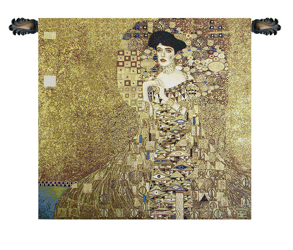 Portrait of Adele Bloch Bauer by Klimt European Wallhanging