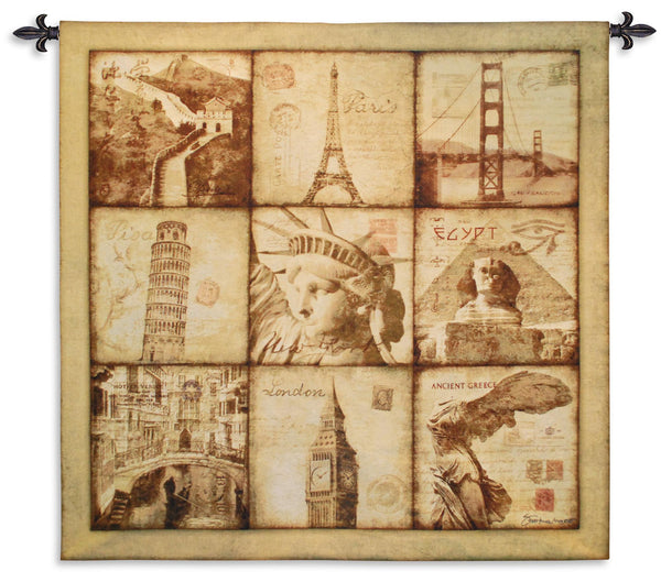 Travel Tapestry Wall Hanging
