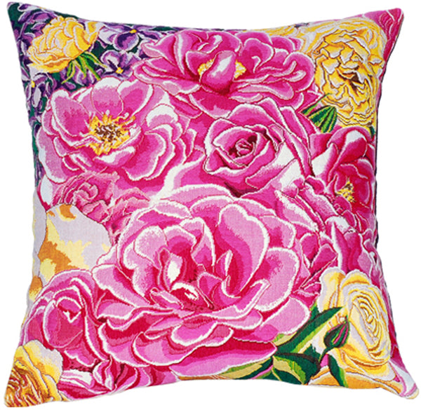 Roseraie French Tapestry Cushion