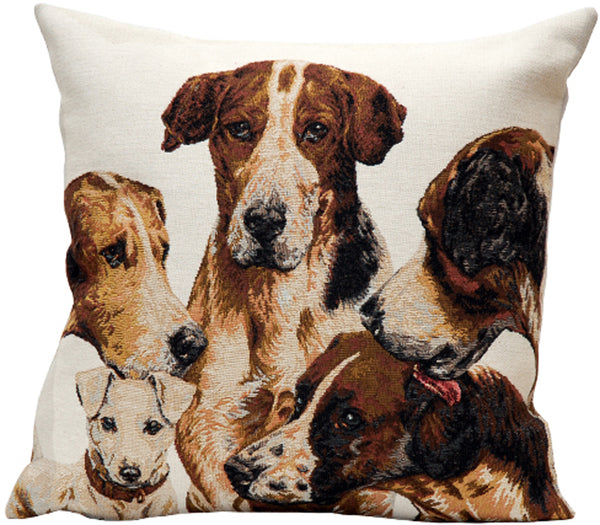 La Meute French Tapestry Cushion