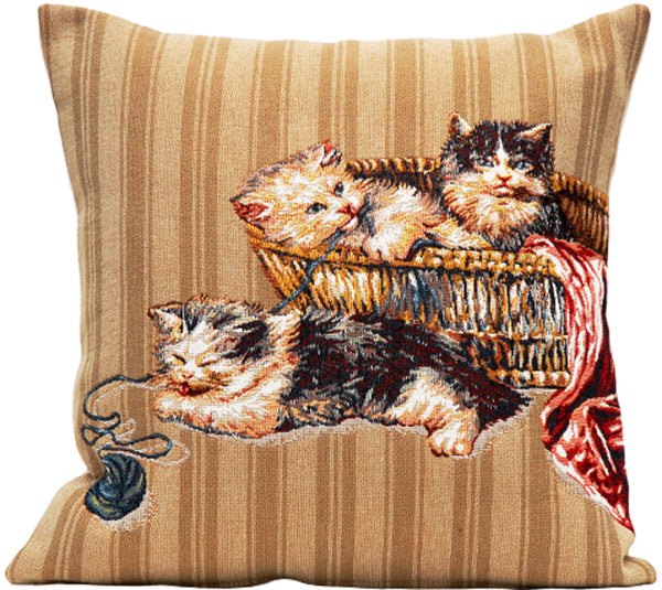 Pelotte French Tapestry Cushion