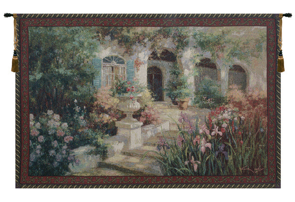 Scented Steps Fine Art Tapestry