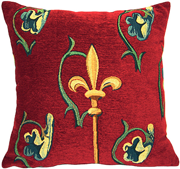 Crosse Rubis French Tapestry Cushion