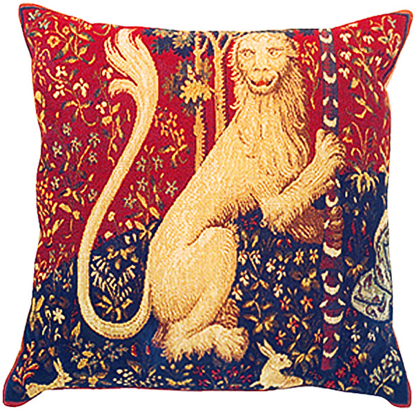 The Lion French Tapestry Cushion