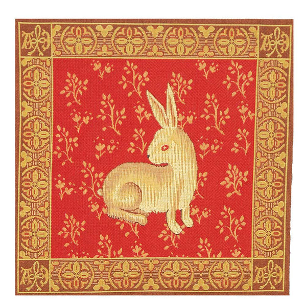 Lapin De Cluny French Tapestry Cushion