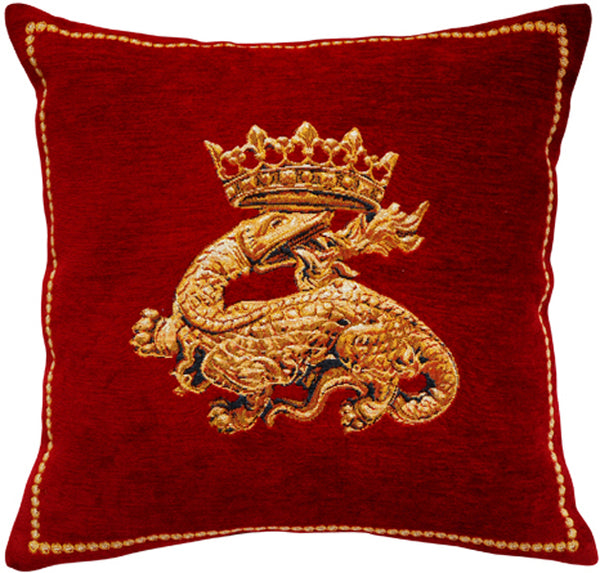 Salamandre French Tapestry Cushion
