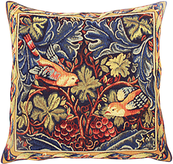 Birds French Tapestry Cushion