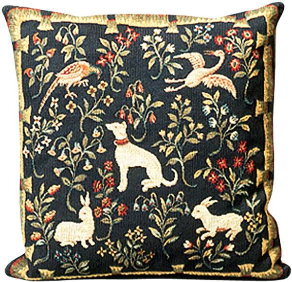 Mille Fleurs French Tapestry Cushion