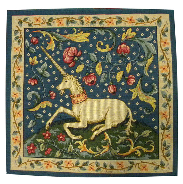 The Unicorn French Tapestry Cushion