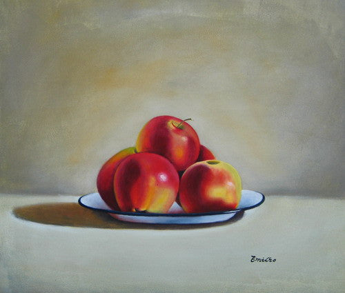 Still Life Of Apples I Oil Painting