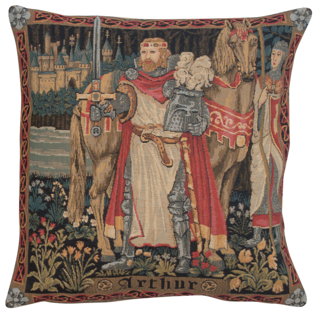 Legendary King Arthur European Cushion Cover