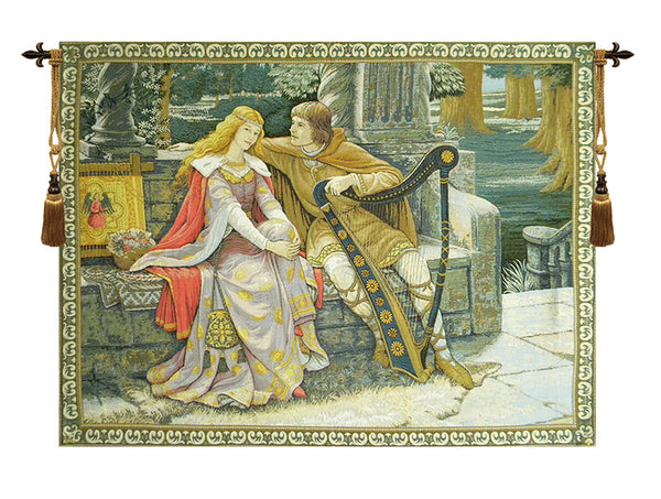 Tristan And Isolde European Tapestry