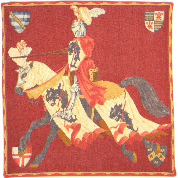 Red Knight European Cushion Cover