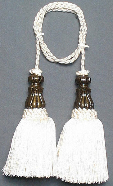 Classic - Ivory Tapestry  Decorative Tassels