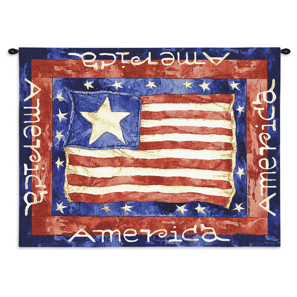 Old glory  Tapestry Wall Hanging