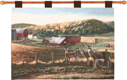 Harvest Time Fine Art Tapestry
