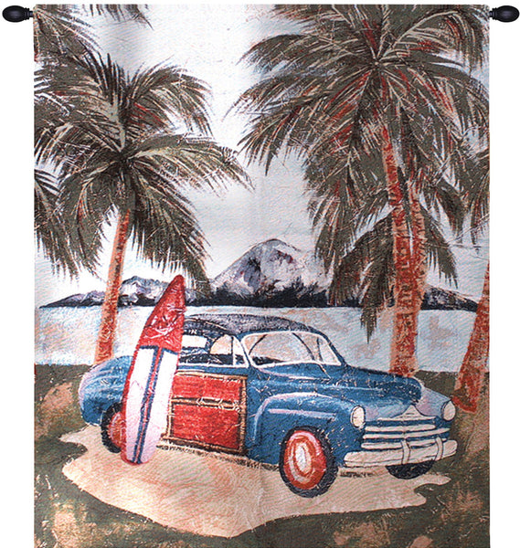 Surfin Safari Fine Art Tapestry