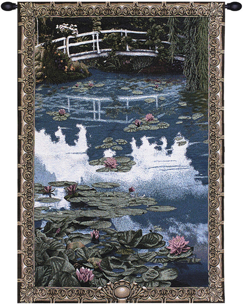 Water Lilies Tapestry Wall Hanging